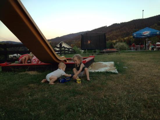 Horni Becva, República Checa: kids' corner