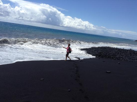 Keaau, Hawái: Kaimu Blank Sand Beach