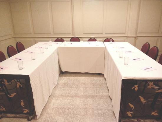 Grand Residence: Board Room U shape