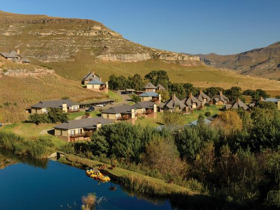 ‪‪Clarens‬, جنوب أفريقيا: Set in the beautiful Maluti Mountains‬