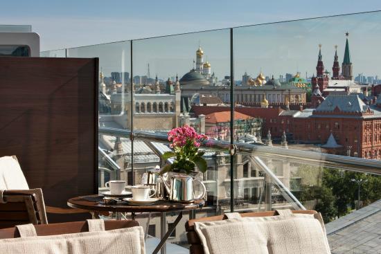 Ararat Park Hyatt Moscow: Conservatory Lounge & Bar Terrace
