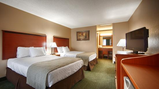 Magnuson Hotel Mountain View: Double Room