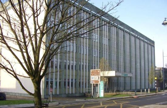 Hanley, UK: City Central Library