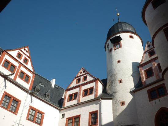 Schloss Rochsburg: Burghof