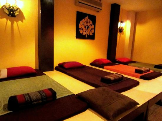 Lanna Boutique Resort: Thai massage room