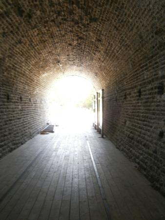 Brockville Railway Tunnel: view from inside