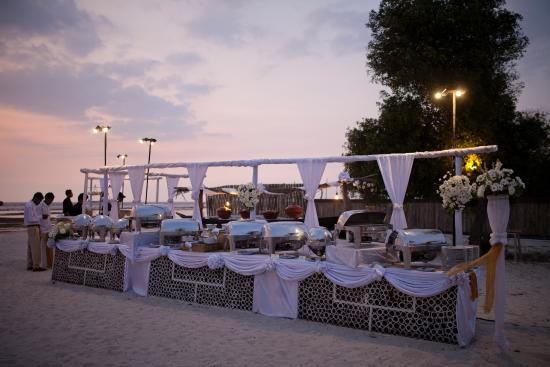 Wedding Buffet Picture Of Hotel Ombak Sunset Gili