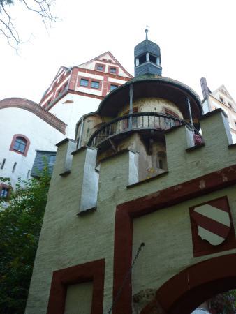 Lunzenau, เยอรมนี: Eingangsbereich zur Burg