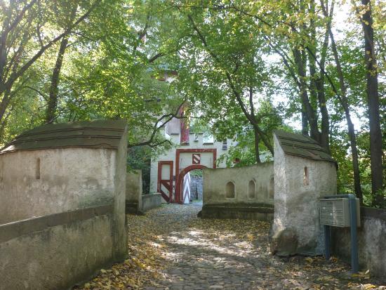 Lunzenau, Alemanha: Ausgangsbereich von der Burganlage