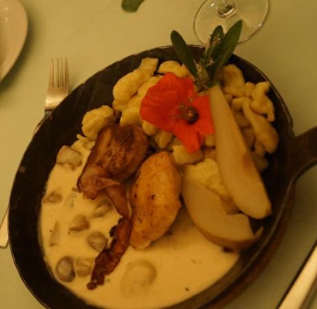 Hotel Lindenhof: Dinner - Meat