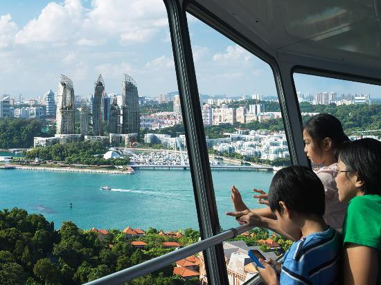Sentosa Island, Singapore: Tiger Sky Tower