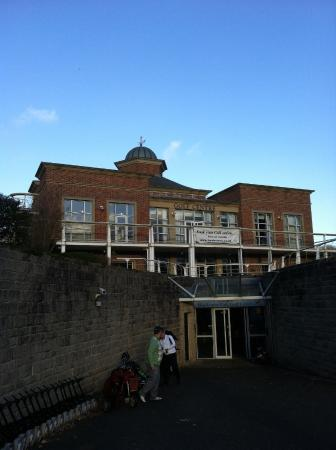 Weston-under-Redcastle, UK: Club House