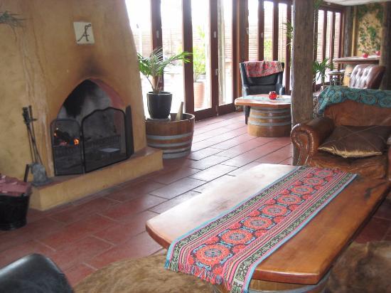 Ascension Winery: Зал для отдыха и беседы