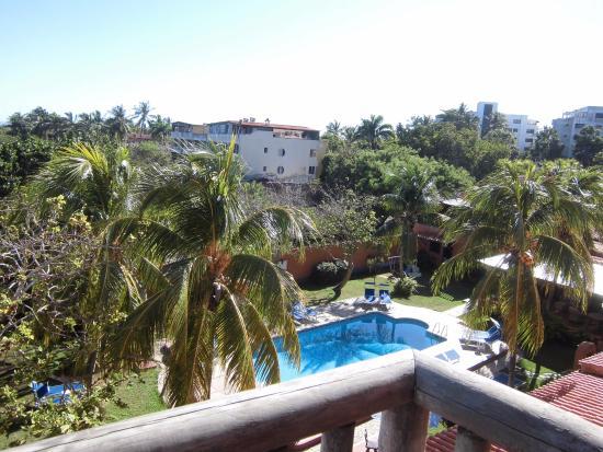 Costa Linda Beach : Vista desde la habitación