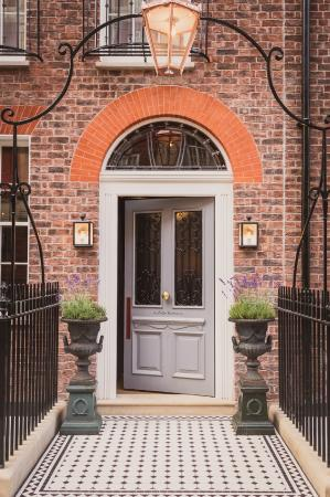 The front door on Seymour Street - Picture of The Zetter Townhouse ...