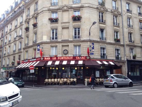Le fontenoy paris 18 parijs restaurantbeoordelingen for Restaurant miroir paris 18