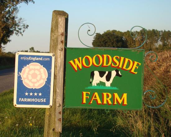 Belvoir Bed & Breakfast at Woodside Farm: Don't Miss the Turning!