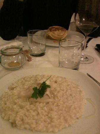 Hosteria Le Gourmet : risotto castagne e lardo