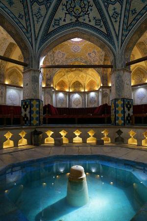The Beautiful Bath House Picture Of Sultan Amir Ahmad Bathhouse Kashan T