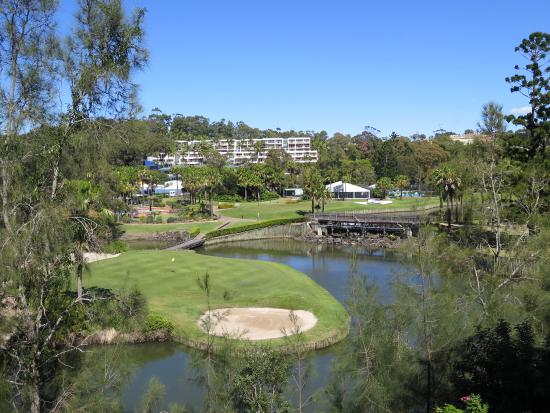 Wyndham Vacation Resort Coffs Harbour: View from the balconyy
