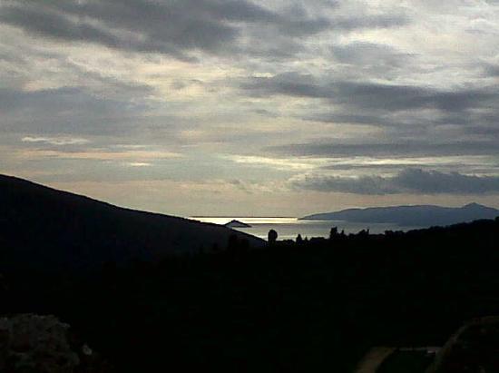 Elba vista da Baratti