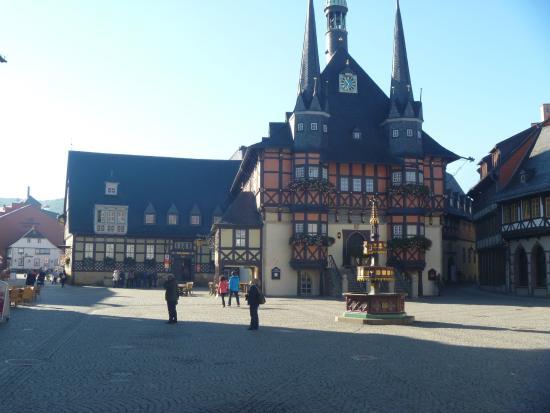 Schlosshotel Grosser Gasthof Van Der Valk Ballenstedt: Wernigerode centrum