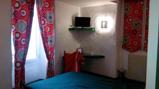 Hotel l'Astrolabe : Mexique: nouveaux rideaux très seyants