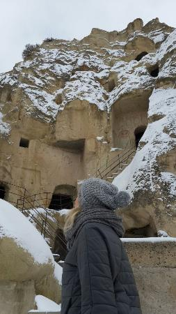 Tafoni Houses: Goreme Open Air Museum