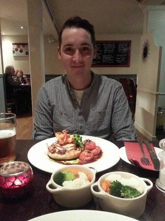 Roberto's : veggie meal
