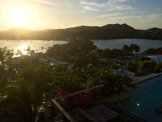Hotel Villa Lodge 4 Epices: Je reviendrais profiter de cette vue