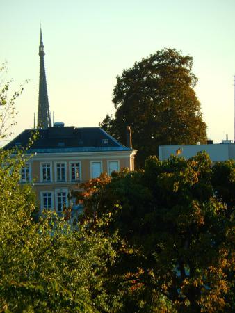 Le Clos Jouvenet : View toward Rouen