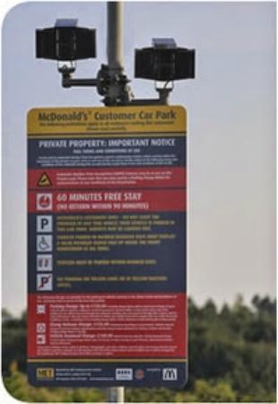 Met Parking Services >> Met Parking Sign Mcds Coldra Picture Of Mcdonald S