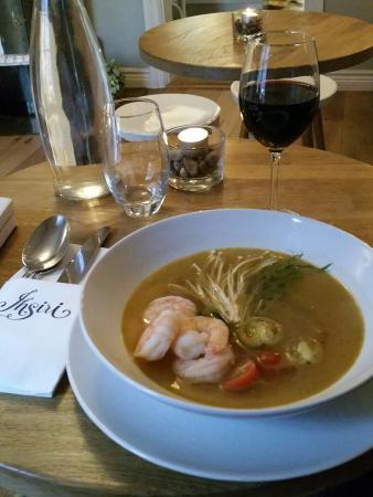 Lund, İsveç: Ton Yum spicy soup