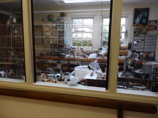 Creetown, UK: gem workshop