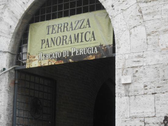 terrazza panoramica - Foto di Porta Sole, Perugia - TripAdvisor