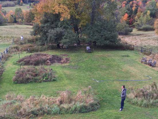 Northfield, VT: View from room