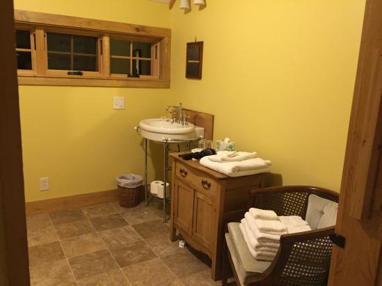 Northfield, Βερμόντ: Bathroom