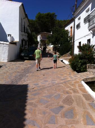 El Tejar: Road to the villa