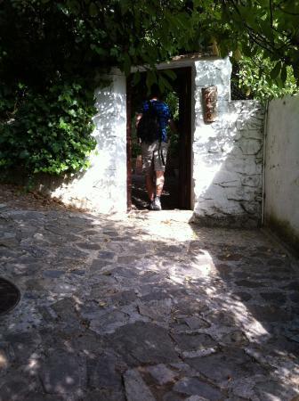 El Tejar: Entranceway