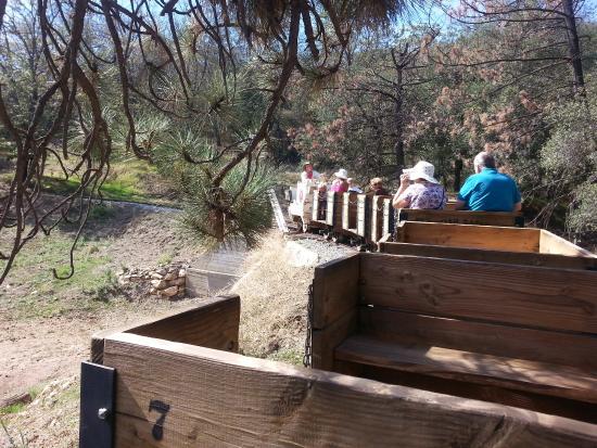 Smith Ranch & Julian Railroad - train ride