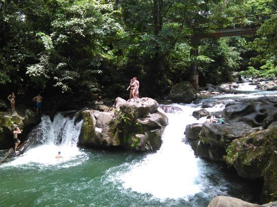 Mayol Lodge: rock pools