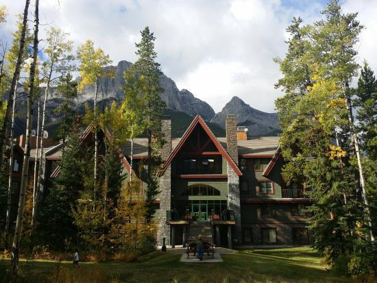 WorldMark Canmore-Banff: View from the back of the property