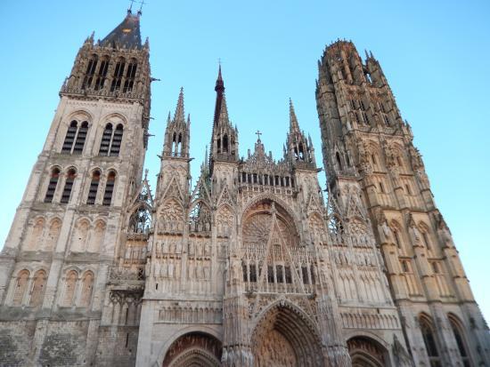 Cathedrale Notre-Dame de Rouen: Cathedral facade