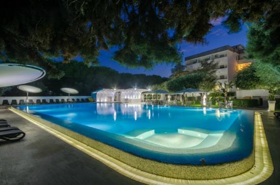 Piscina esterna foto di hotel le palme paestum - Hotel paestum con piscina ...