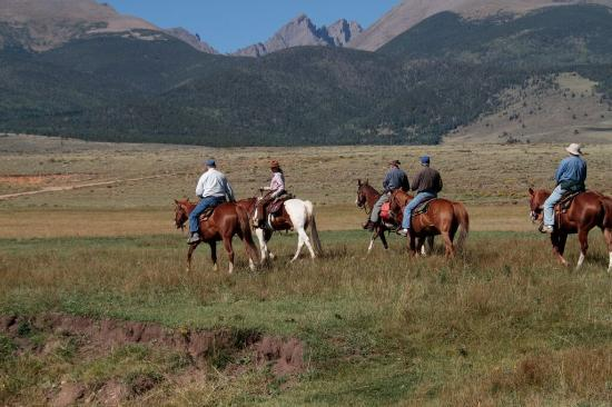 Westcliffe, CO: Music Meadows Range Ride