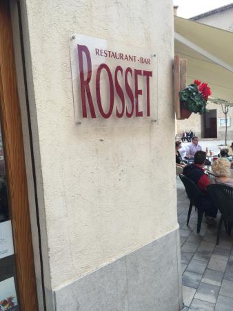 Restaurant Rosset