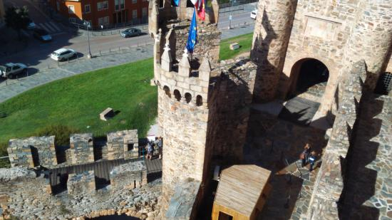 Galicia, Spania: Vista de arriba de parte derecha