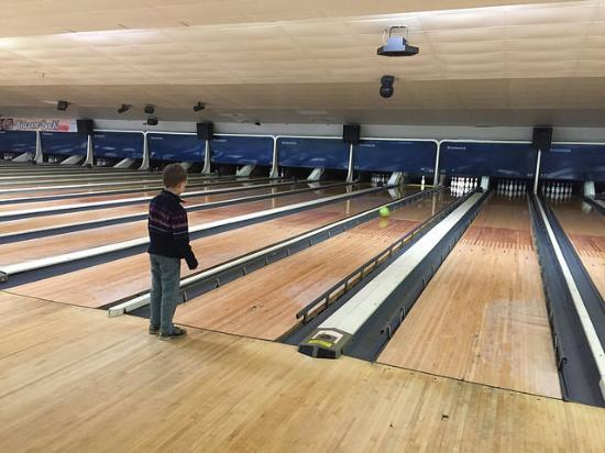 Mansfield, OH: Bowling alley