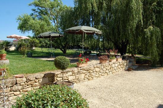 Camiran, Frankrike: le jardin