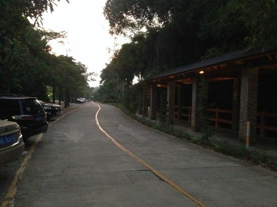 Xinxing County, China: Hotel Area